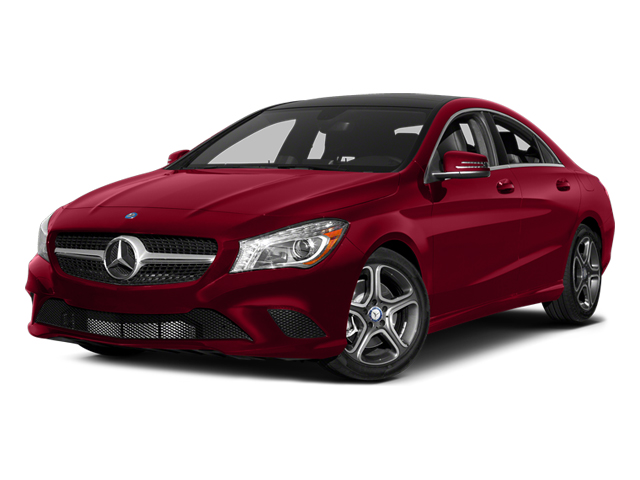 Jupiter Red 2014 Mercedes-Benz CLA-Class Pictures CLA-Class Sedan 4D CLA250 AWD I4 Turbo photos front view