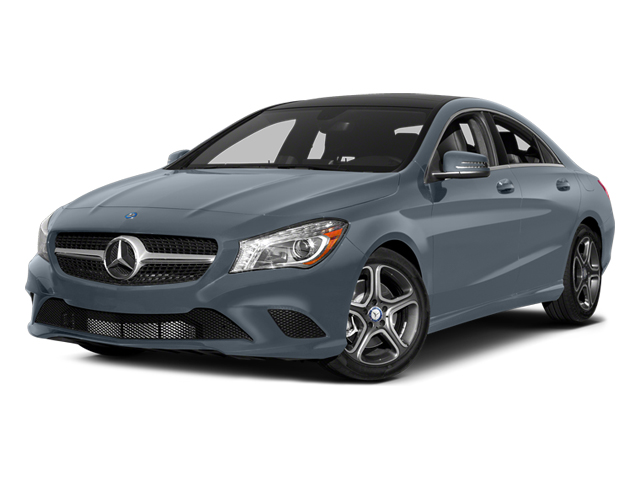 Universe Blue Metallic 2014 Mercedes-Benz CLA-Class Pictures CLA-Class Sedan 4D CLA250 AWD I4 Turbo photos front view