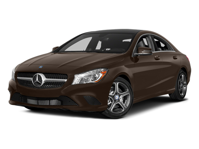 Cocoa Brown Metallic 2014 Mercedes-Benz CLA-Class Pictures CLA-Class Sedan 4D CLA250 AWD I4 Turbo photos front view