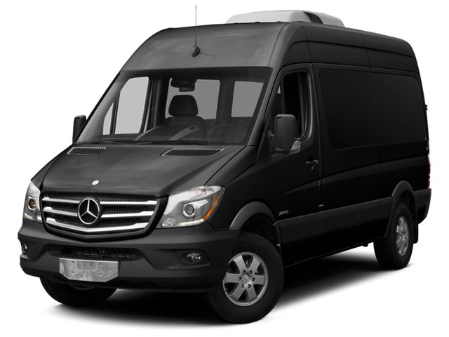 Obsidian Black Metallic 2014 Mercedes-Benz Sprinter Passenger Vans Pictures Sprinter Passenger Vans Passenger Van photos front view