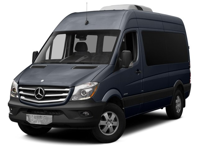 Graphite Gray 2014 Mercedes-Benz Sprinter Passenger Vans Pictures Sprinter Passenger Vans Passenger Van photos front view