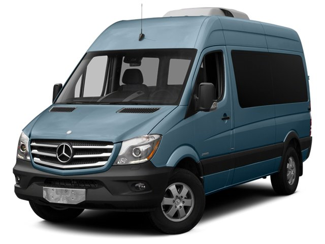 Brilliant Blue 2014 Mercedes-Benz Sprinter Passenger Vans Pictures Sprinter Passenger Vans Passenger Van photos front view