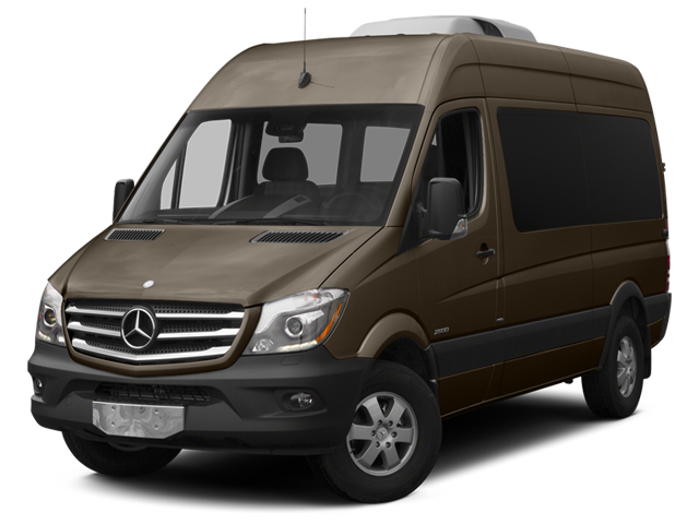 Dolomite Brown Metallic 2014 Mercedes-Benz Sprinter Passenger Vans Pictures Sprinter Passenger Vans Passenger Van photos front view