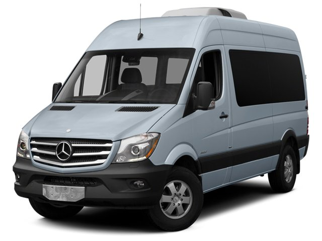 Blue Gray 2014 Mercedes-Benz Sprinter Passenger Vans Pictures Sprinter Passenger Vans Passenger Van photos front view