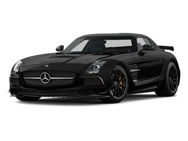 Obsidian Black Metallic 2014 Mercedes-Benz SLS AMG Black Series Pictures SLS AMG Black Series 2 Door Coupe Black Series photos front view