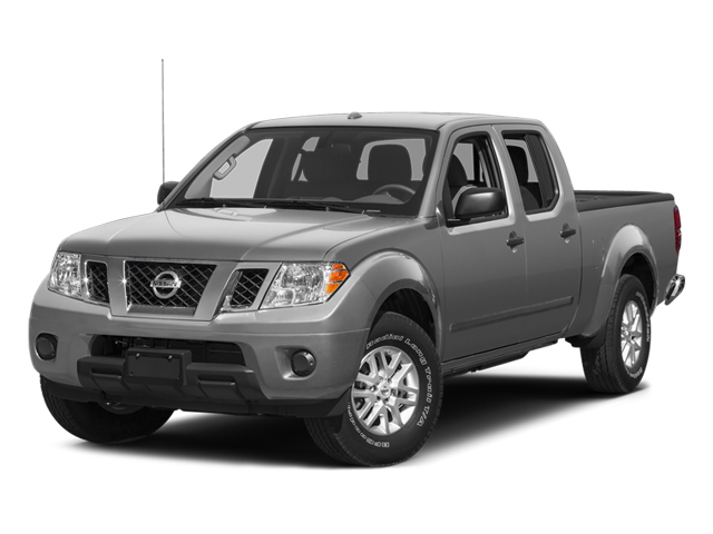 Brilliant Silver 2014 Nissan Frontier Pictures Frontier Crew Cab Desert Runner 2WD photos front view