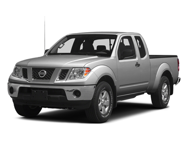 Brilliant Silver 2014 Nissan Frontier Pictures Frontier King Cab SV 2WD photos front view