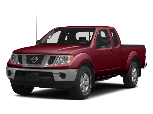 Cayenne Red 2014 Nissan Frontier Pictures Frontier King Cab SV 2WD photos front view