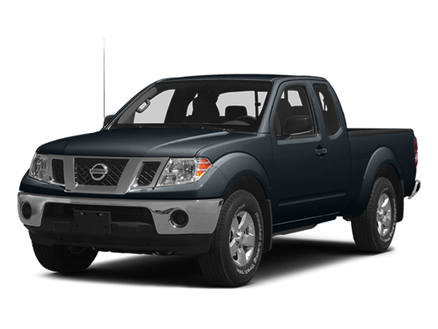 Graphite Blue 2014 Nissan Frontier Pictures Frontier King Cab SV 2WD photos front view