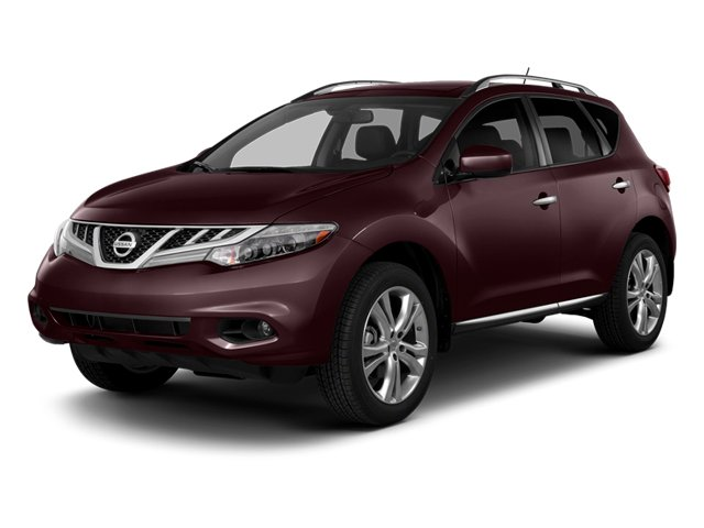 Midnight Garnet Metallic 2014 Nissan Murano Pictures Murano Utility 4D LE AWD V6 photos front view