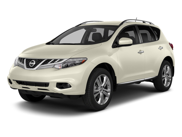 Pearl White 2014 Nissan Murano Pictures Murano Utility 4D LE AWD V6 photos front view