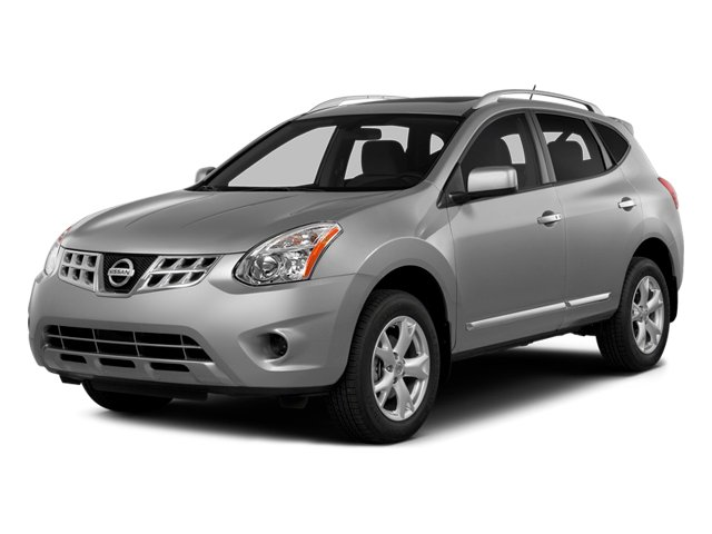 Brilliant Silver 2014 Nissan Rogue Select Pictures Rogue Select Utility 4D S 2WD I4 photos front view