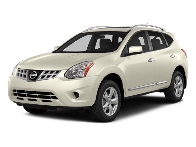 Pearl White 2014 Nissan Rogue Select Pictures Rogue Select Utility 4D S 2WD I4 photos front view