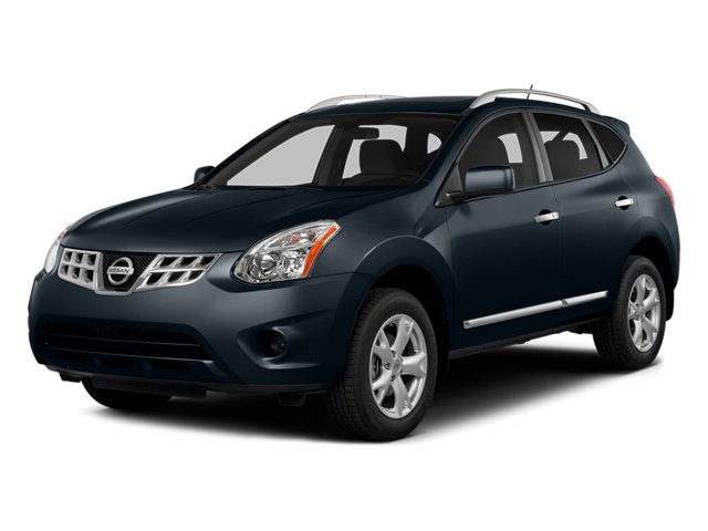 Graphite Blue 2014 Nissan Rogue Select Pictures Rogue Select Utility 4D S 2WD I4 photos front view