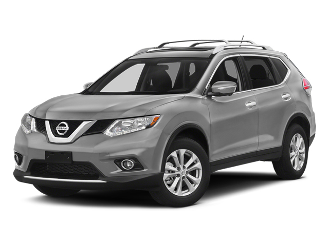 Brilliant Silver 2014 Nissan Rogue Pictures Rogue Utility 4D SL AWD I4 photos front view