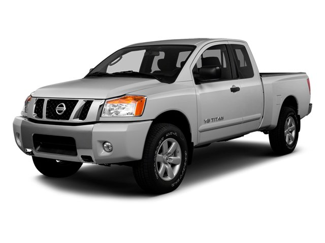 Brilliant Silver Metallic 2014 Nissan Titan Pictures Titan King Cab S 4WD photos front view