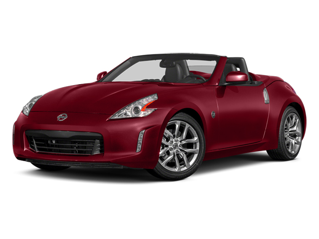 Solid Red 2014 Nissan 370Z Pictures 370Z Roadster 2D Touring V6 photos front view