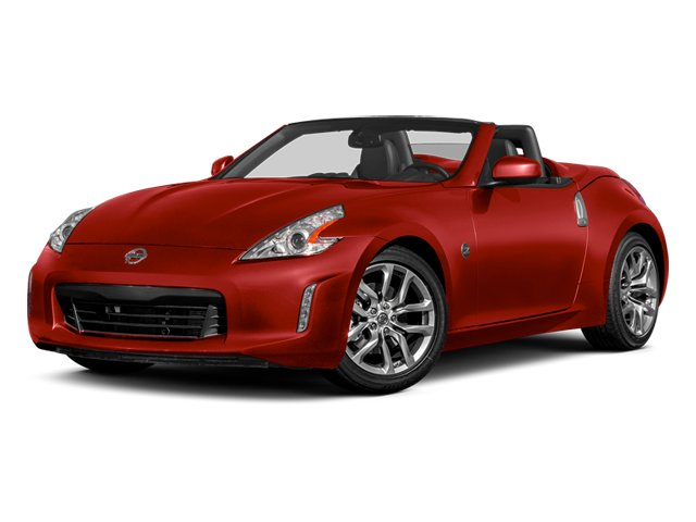 Magma Red Metallic 2014 Nissan 370Z Pictures 370Z Roadster 2D Touring V6 photos front view
