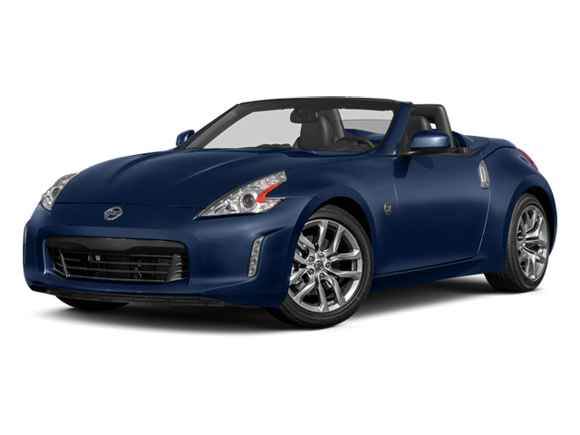 Midnight Blue Metallic 2014 Nissan 370Z Pictures 370Z Roadster 2D Touring V6 photos front view