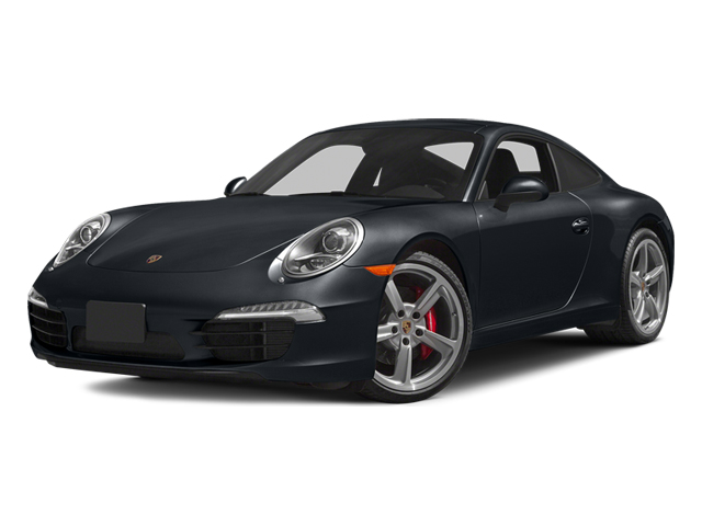 Basalt Black Metallic 2014 Porsche 911 Pictures 911 Coupe 2D Turbo AWD H6 photos front view