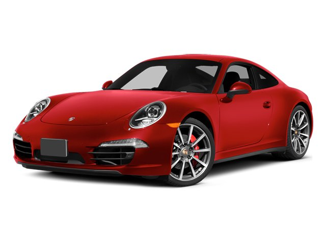 Guards Red 2014 Porsche 911 Pictures 911 Coupe 2D 4 AWD H6 photos front view