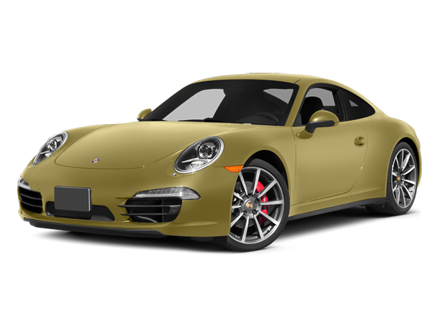 Lime Gold Metallic 2014 Porsche 911 Pictures 911 Coupe 2D 4 AWD H6 photos front view