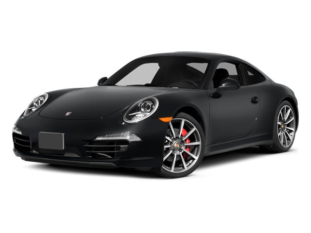 Basalt Black Metallic 2014 Porsche 911 Pictures 911 Coupe 2D 4 AWD H6 photos front view