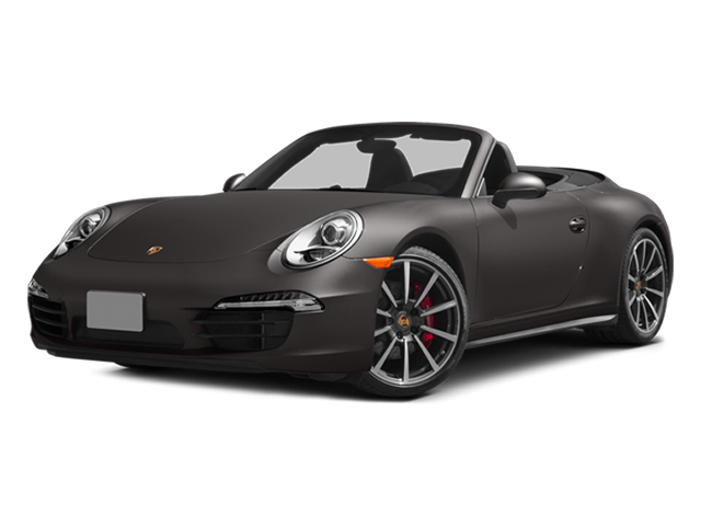 Anthracite Brown Metallic 2014 Porsche 911 Pictures 911 Cabriolet 2D 4 AWD H6 photos front view
