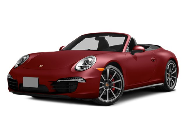 Amaranth Red Metallic 2014 Porsche 911 Pictures 911 Cabriolet 2D 4 AWD H6 photos front view