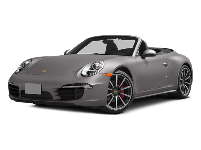 Agate Gray Metallic 2014 Porsche 911 Pictures 911 Cabriolet 2D 4 AWD H6 photos front view
