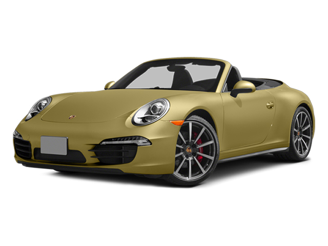 Lime Gold Metallic 2014 Porsche 911 Pictures 911 Cabriolet 2D 4 AWD H6 photos front view