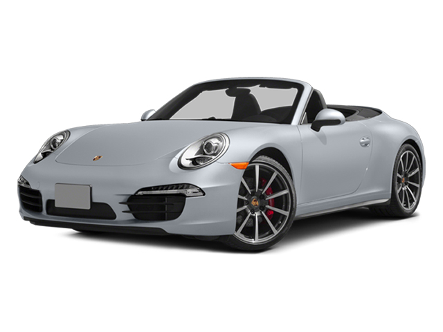 Rhodium Silver Metallic 2014 Porsche 911 Pictures 911 Cabriolet 2D 4 AWD H6 photos front view