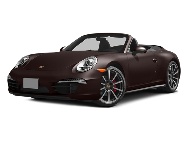 Mahogany Metallic 2014 Porsche 911 Pictures 911 Cabriolet 2D 4 AWD H6 photos front view