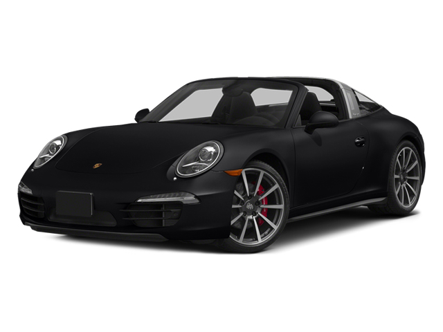 Black 2014 Porsche 911 Pictures 911 Coupe 2D 4 Targa AWD photos front view
