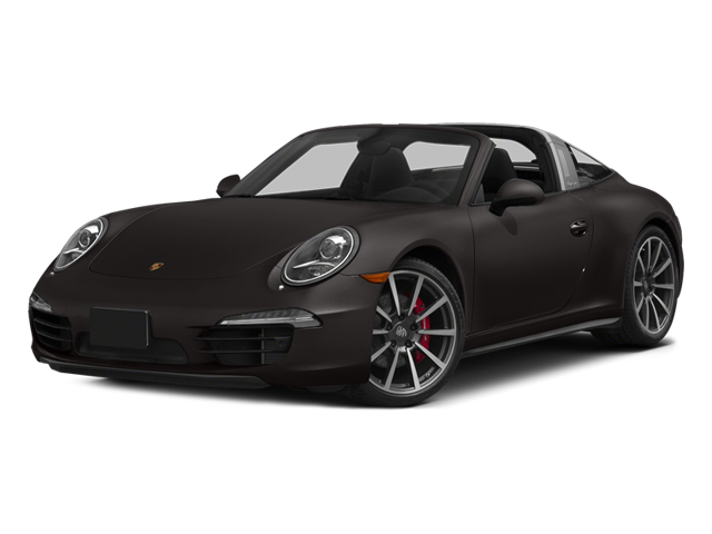 Anthracite Brown Metallic 2014 Porsche 911 Pictures 911 Coupe 2D 4S Targa AWD photos front view