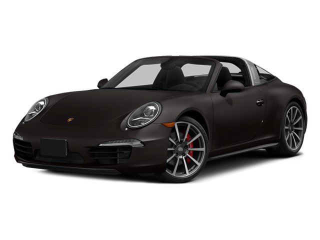 Anthracite Brown Metallic 2014 Porsche 911 Pictures 911 Coupe 2D 4 Targa AWD photos front view