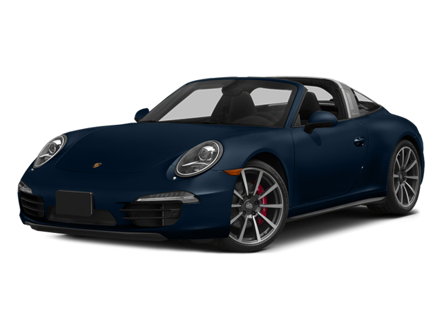 Dark Blue Metallic 2014 Porsche 911 Pictures 911 Coupe 2D 4 Targa AWD photos front view