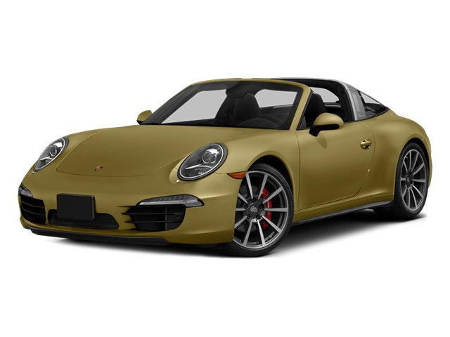 Lime Gold Metallic 2014 Porsche 911 Pictures 911 Coupe 2D 4 Targa AWD photos front view