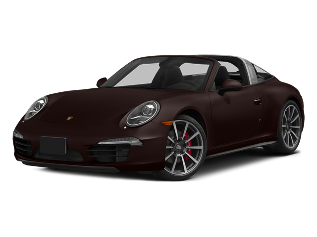 Mahogany Metallic 2014 Porsche 911 Pictures 911 Coupe 2D 4S Targa AWD photos front view