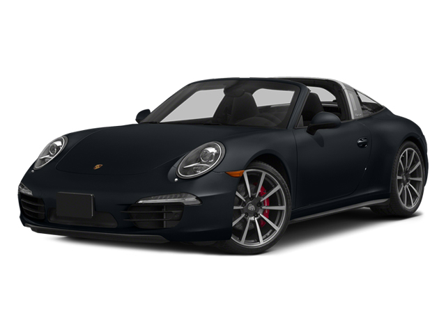 Basalt Black Metallic 2014 Porsche 911 Pictures 911 Coupe 2D 4S Targa AWD photos front view
