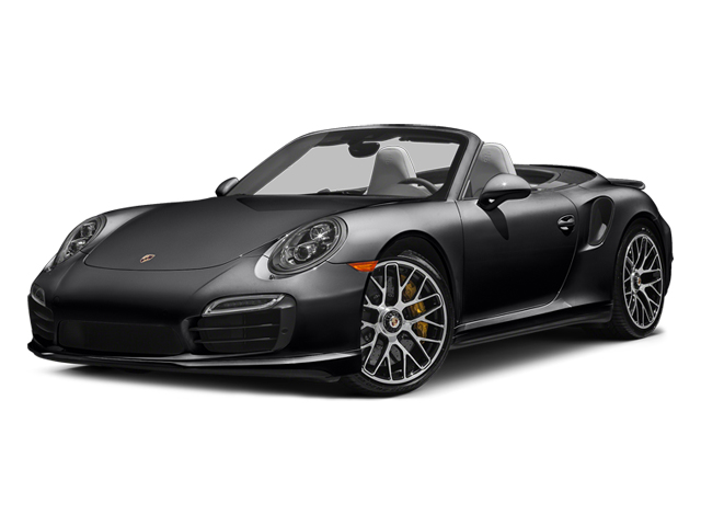 Black 2014 Porsche 911 Pictures 911 Cabriolet 2D AWD H6 Turbo photos front view