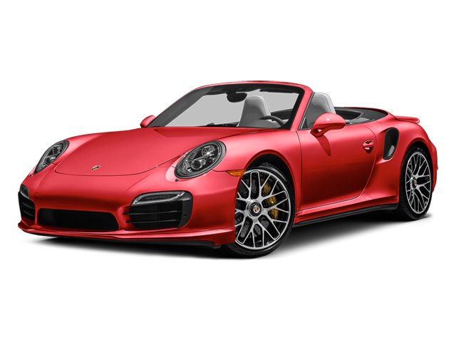 Guards Red 2014 Porsche 911 Pictures 911 Cabriolet 2D S AWD H6 Turbo photos front view
