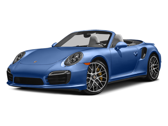Sapphire Blue Metallic 2014 Porsche 911 Pictures 911 Cabriolet 2D AWD H6 Turbo photos front view