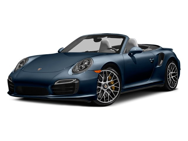 Dark Blue Metallic 2014 Porsche 911 Pictures 911 Cabriolet 2D AWD H6 Turbo photos front view