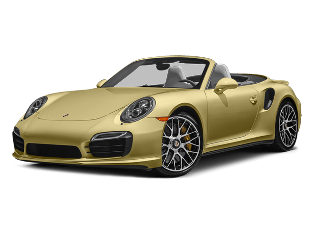 Lime Gold Metallic 2014 Porsche 911 Pictures 911 Cabriolet 2D S AWD H6 Turbo photos front view