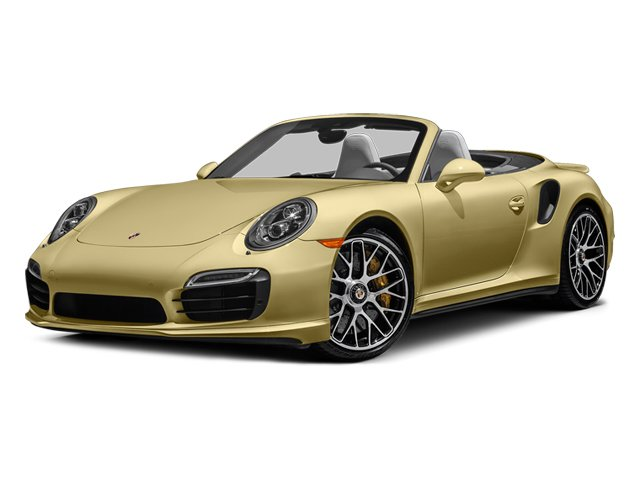 Lime Gold Metallic 2014 Porsche 911 Pictures 911 Cabriolet 2D AWD H6 Turbo photos front view
