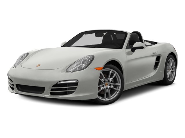 White 2014 Porsche Boxster Pictures Boxster Roadster 2D H6 photos front view