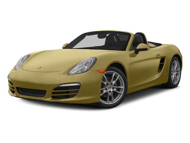 Lime Gold Metallic 2014 Porsche Boxster Pictures Boxster Roadster 2D H6 photos front view