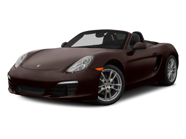 Mahogany Metallic 2014 Porsche Boxster Pictures Boxster Roadster 2D H6 photos front view