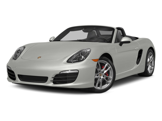 White 2014 Porsche Boxster Pictures Boxster Roadster 2D S H6 photos front view